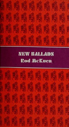 New ballads.