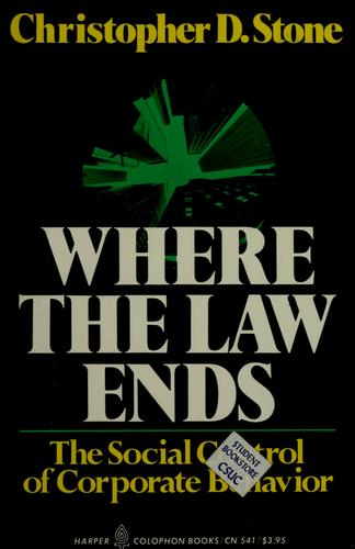 Download Where the law ends