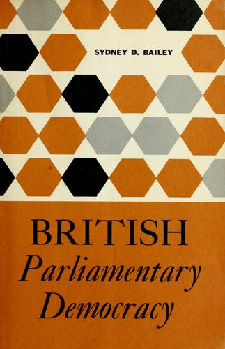 British parliamentary democracy.