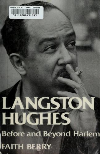 Download Langston Hughes, before and beyond Harlem