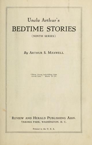 Uncle Arthur's bedtime stories.