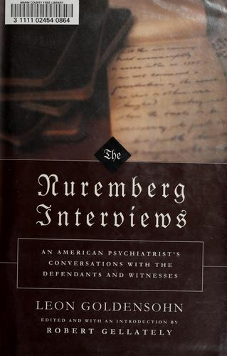 Download The Nuremberg interviews
