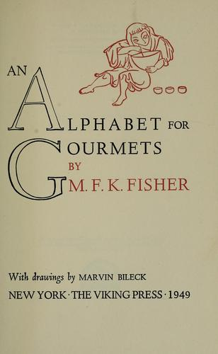 Download An alphabet for gourmets