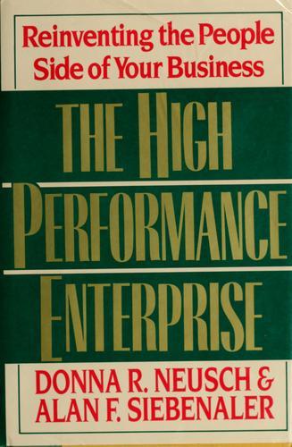 The high performance enterprise