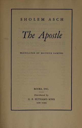 Download The apostle