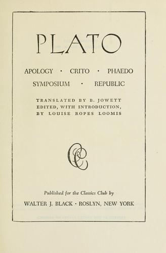 Apology, Crito, Phaedo, Symposium, Republic