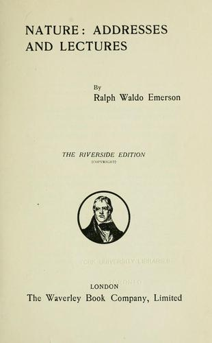 Download Emerson's complete works. —