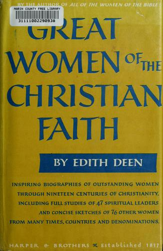 Great women of the Christian faith.