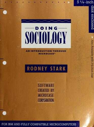 Download Doing sociology