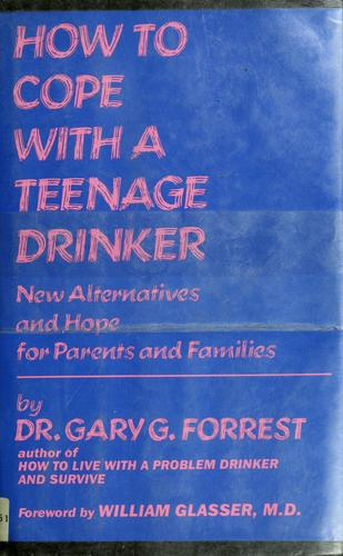 How to cope with a teenage drinker