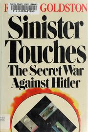Sinister Touches: The Secret War Against Hitler