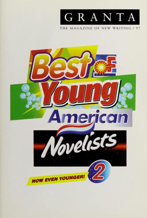 The Best of young American novelists 2 by [editor, Ian Jack].