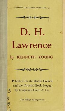 Cover of: D. H. Lawrence | Young, Kenneth