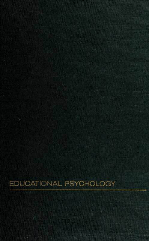 Handbook on teaching educational psychology by edited by Donald J. Treffinger, J. Kent Davis, Richard E. Ripple.