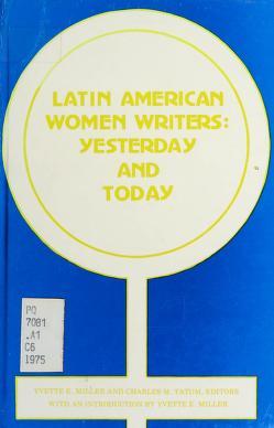 Cover of: Latin American women writers   Conference on Women Writers from Latin America Carnegie-Mellon University 1975.