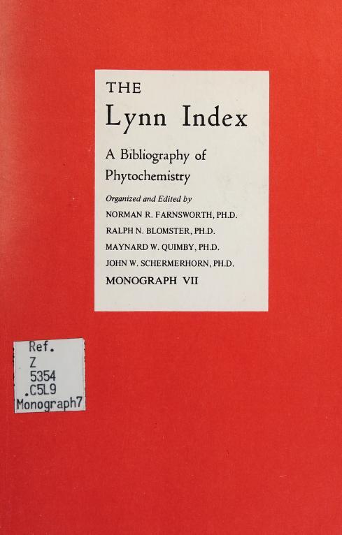 The Lynn index by Eldin V. Lynn