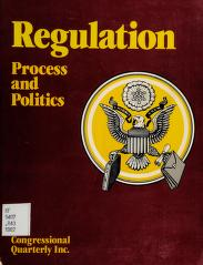 Cover of: Regulation |