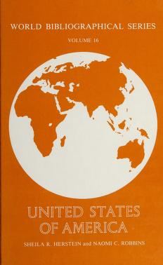 Cover of: United States of America | Sheila R. Herstein