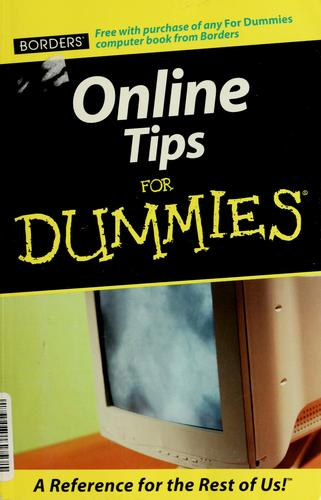 Online tips for dummies by Tamara Castleman