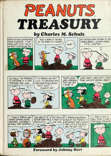 Peanuts treasury by Charles M. Schulz