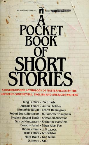 A Pocket book of short stories by M. Edmund Speare