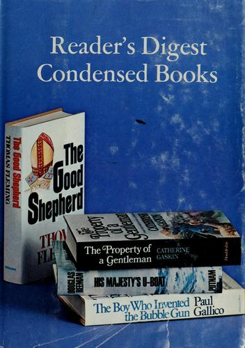 Reader's digest condensed books by Paul Gallico