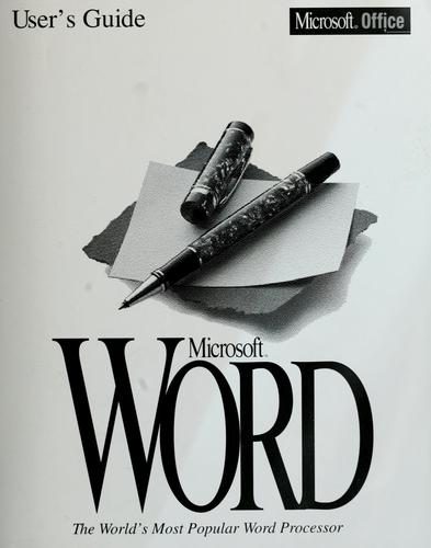Microsoft Word by Microsoft Corporation