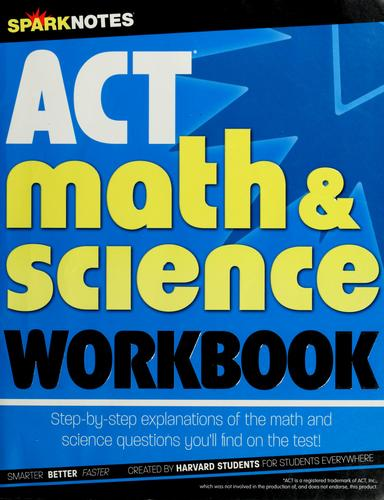ACT math & science workbook by Spark Publishing
