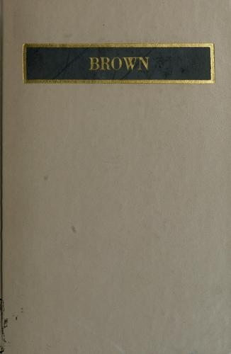 Charles Brockden Brown by Ringe, Donald A.