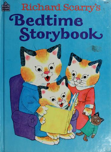 Richard Scarry's Bedtime storybook by Richard Scarry