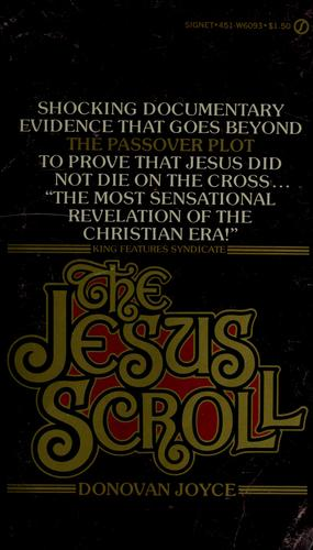 The Jesus scroll by Donovan Joyce