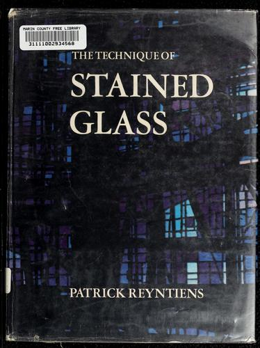 The technique of stained glass.