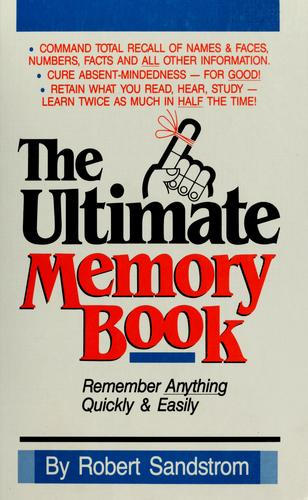 The ultimate memory book by Robert Sandstrom