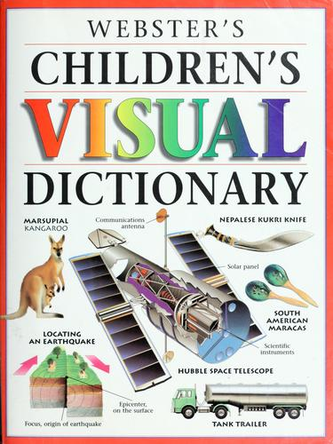 Webster's childrens visual dictionary by