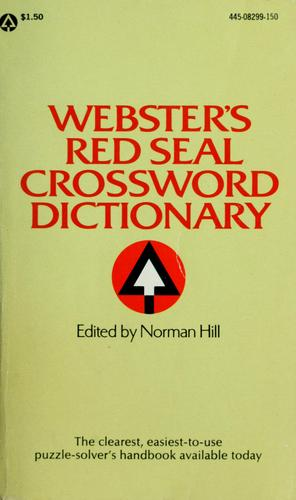 Webster's red seal crossword dictionary by Hill, Norman