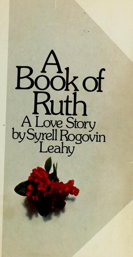 A book of Ruth by Syrell Rogovin Leahy