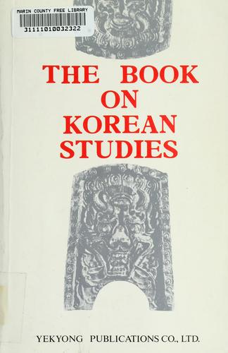 The book on Korean studies by