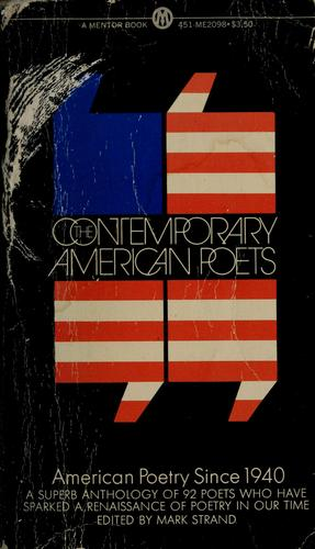 The contemporary American poets