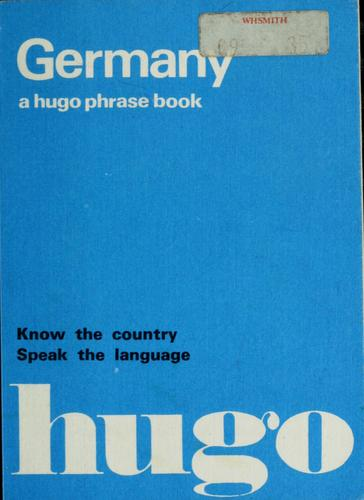 Hugo's German phrase book by
