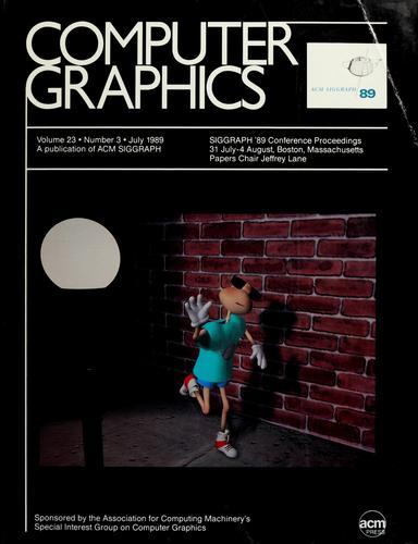 SIGGRAPH '89 conference proceedings by Jeffrey Lane