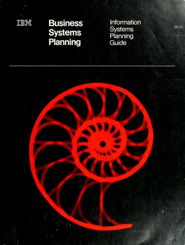 Business systems planning by