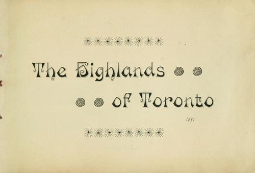 The Highlands of Toronto by Toronto Belt Land Corporation