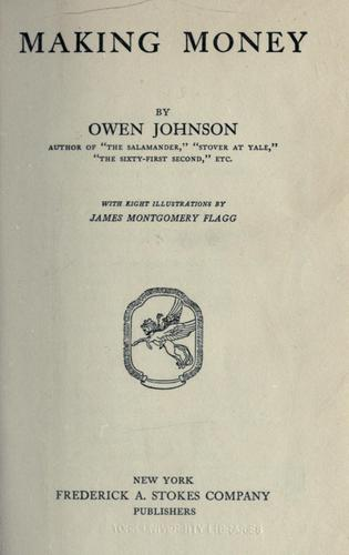 Making money by Johnson, Owen