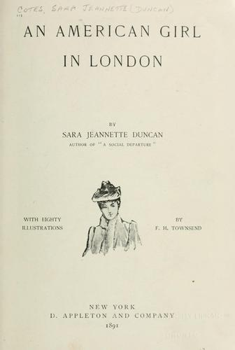 An American girl in London by Cotes, Everard Mrs
