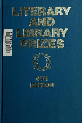 Literary and library prizes by Olga S. Weber