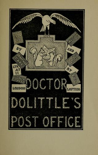 Doctor Dolittle's post office by Hugh Lofting